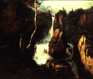 Henry Bright - una alpine catarata