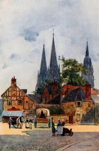 Herbert Menzies Marshall - Una calle esquina , bayeux