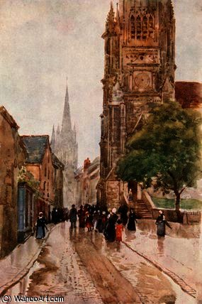 San . pierre , contances de Herbert Menzies Marshall (1841-1913, United Kingdom)