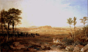 Hugh William Williams - vista de Atenas