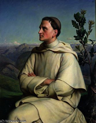 Enrique Lacordaire a Sorreze de John Cooke Bourne (1814-1896, United Kingdom)
