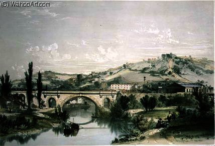 San . James' Puente y Estación de John Cooke Bourne (1814-1896, United Kingdom)