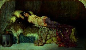 William Arthur Breakspeare - durmiendo la belleza