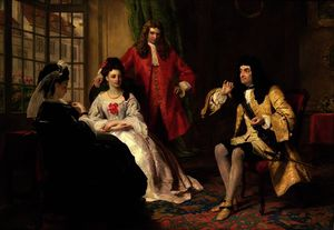 William Powell Frith - señor foppington Relativo sus aventuras