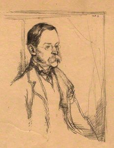 William Rothenstein - señor abadejo de frederick