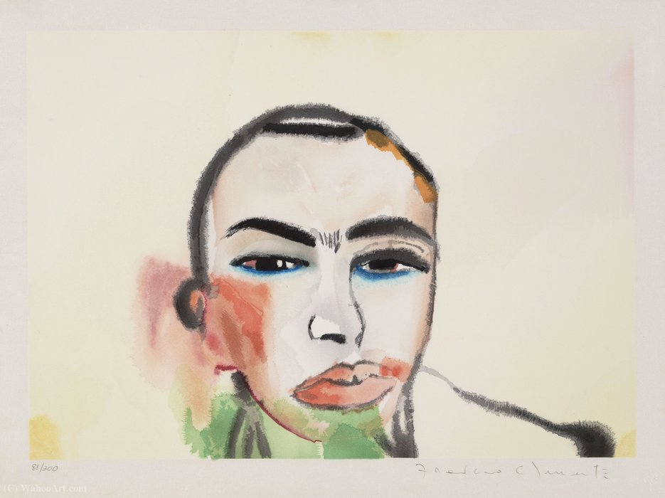 Untitled de Francesco Clemente