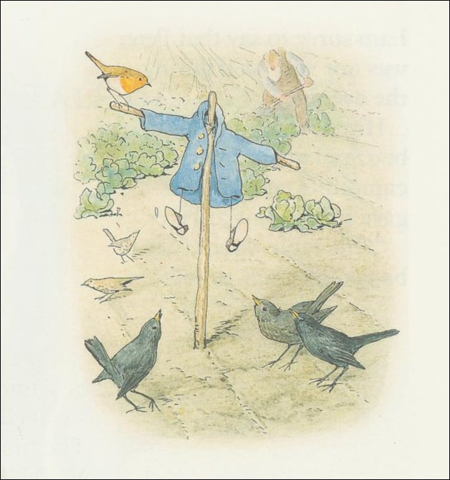 Peter conejo 28a - (11x11) de Beatrix Potter (1866-1943)