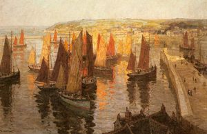 Terrick Williams - Brixham rojo y oro