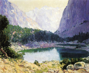 Guy Rose - Twin Lakes, sierra alta