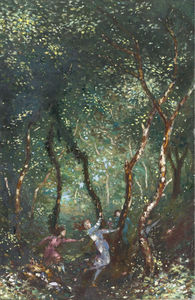 George William Russell - cifras baile  para  el  bosque