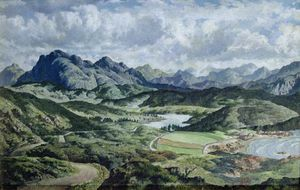 James Mcintosh Patrick - Ross-shire Paisaje cerca de Poolewe