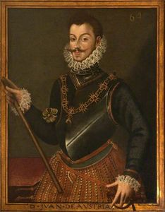 Alonso Sanchez Coello - Don Juan de Austria