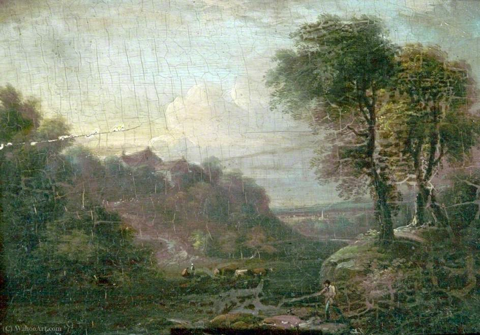 Paisaje, Ganado y Cifras de George Vincent (1796-1831, United Kingdom)