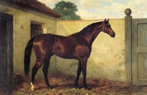 Harry Hall - Bahía kingcraft caballo de carreras
