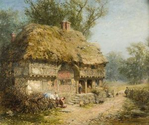 James John Hill - Cerca de Stratford-upon-Avon