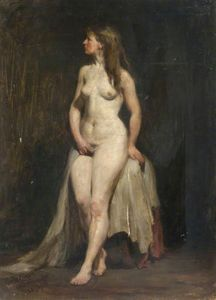 James Lawton Wingate - De pie desnudo femenino