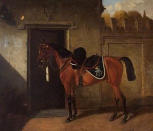 John Alfred Wheeler - May Queen , Bañera Tropa, North Somerset Yeomanry Caballería