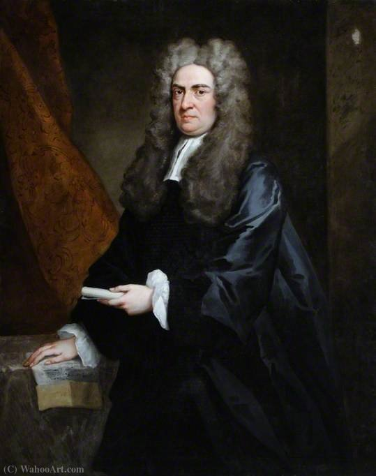 William Rogers de Dowdeswell, Master en Alto Tribunal de la Cancillería de John Vanderbank (1694-1739, United Kingdom)