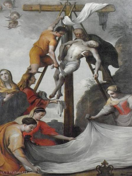 Descendimiento de la Cruz de Lubin Baugin (1612-1663, France)
