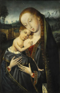 Master Of Magdalen - Virgen