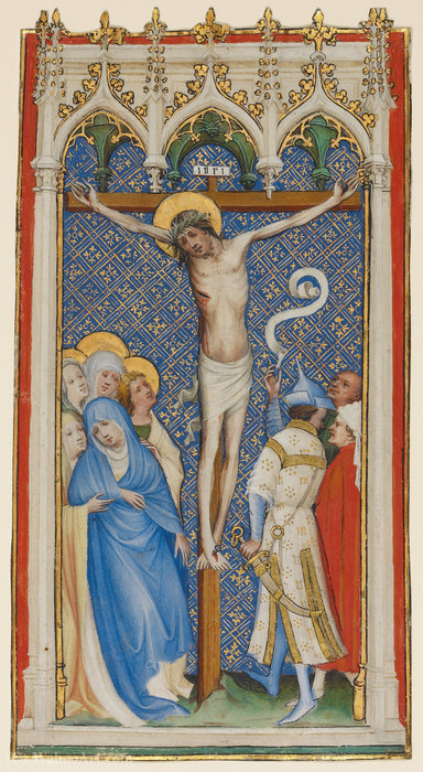 La crucifixión de Master Of Saint Veronica