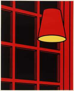 Patrick Caulfield - el interior camisón