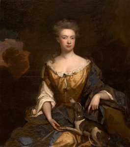 Godfrey Kneller - dorothy keyt , el honorable Señorita gilbert coventry