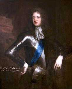 Godfrey Kneller - john sheffield , 1st Duque de buckingham asícomo Normanby