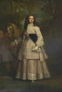 Godfrey Kneller - Frances , Hija de evelyn pierpont , 1st Duque de kingston