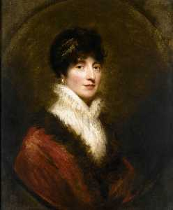 William Beechey - Botas retrato de margaret stirling de ardoch ( re . 1849 )