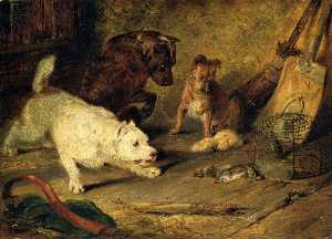 Edwin Henry Landseer - Ratcatchers