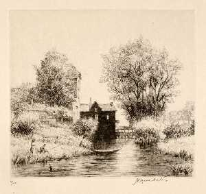 Herman Armour Webster - le moulin Negro