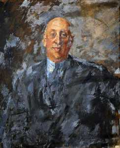 Augustus Edwin John - mayor clifford hugh douglas 1879–1952