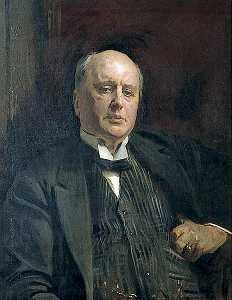 Reginald Grenville Eves - Enrique James ( 1843 1916 ) ( copia después de Sargent )