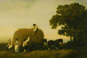 George Stubbs - Los Haymakers