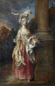 George Agnew Reid - el honorable la señora graham ( después de thomas gainsborough )