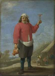 David The Younger Teniers - Otoño