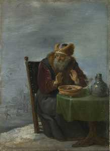 David The Younger Teniers - DE INVIERNO