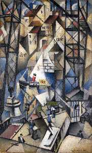 Christopher Richard Wynne Nevinson - Le vieux puerto