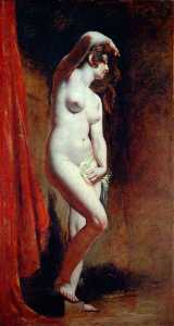 Pedir Grabados De Calidad Del Museo | el bather, 1830 de William Etty (1787-1849, United Kingdom) | WahooArt.com