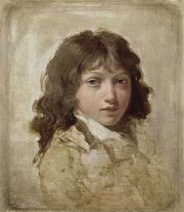 Louis Léopold Boilly - BOTAS RETRATO D'UN HIJO BOILLY