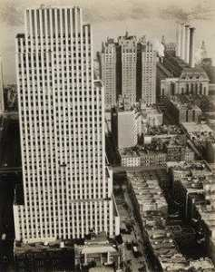 Berenice Abbott - noticias diarias Destajista , 220 Este 42nd Calle , Manhattan