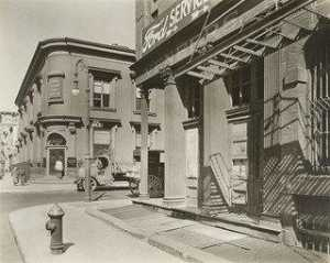 Berenice Abbott - Esquina de Este 10th Calle y Avenida Re , Manhattan