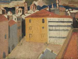 William George Gillies - Desde el Pitti , Florencia