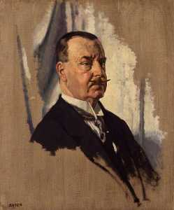 William Newenham Montague Orpen - Señor Joseph Jorge Sala , 1st Bt