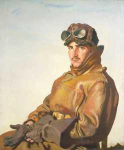 William Newenham Montague Orpen - un aviador Teniente reginald theodore carlos hoidge ( 1894–1963 ) , MC