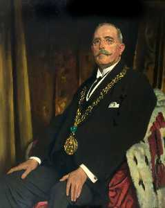 William Newenham Montague Orpen - Señor Alejandro Spence ( 1866–1939 ) , lord provost de dundee ( 1920–1923 )