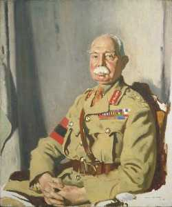 William Newenham Montague Orpen - General Señor herbert charles onslow plumer ( 1857–1932 ) , GCMG , GCVO , KCB , segundo ejército