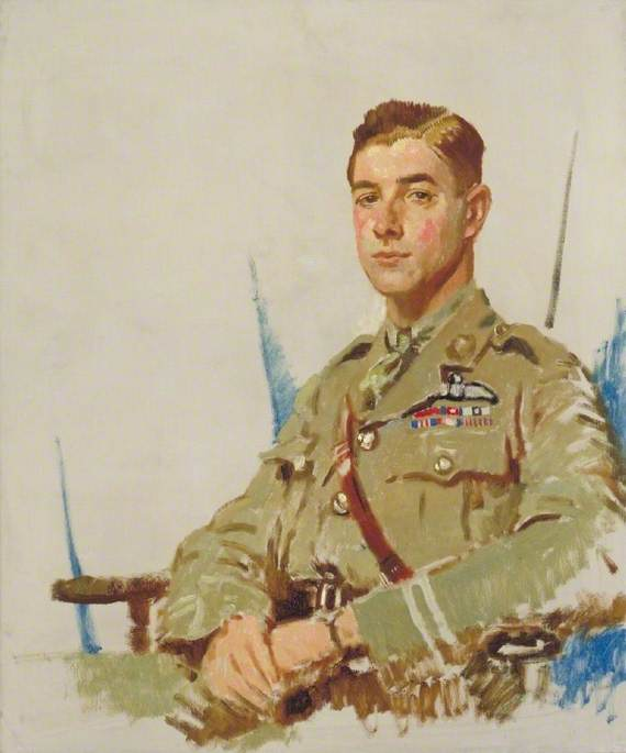 james importante byford mccudden ( 1895–1918 ) , VC , DSO , MC, 1918 de William Newenham Montague Orpen (1878-1931, Ireland) | Reproducciones De Calidad Del Museo | WahooArt.com