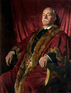 William Newenham Montague Orpen - Señor Guillermo Meff , lord provost de aberdeen ( 1911–1925 )